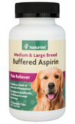NaturVet Buffered Aspirin for Medium and Large Breed Dogs 75 ct.