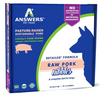 Answers Detailed Frozen Pork Dog Nibbles 2.2 lb. Pack