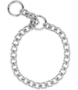 Fine Steel Choke Collar - 16 in.