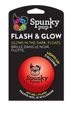 Spunky Pup Flash and Glow Ball