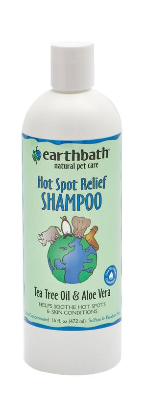 Earthbath Tea Tree Aloe Shampoo 16 oz.