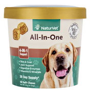 NaturVet All-in-One Soft Chew 60 ct.