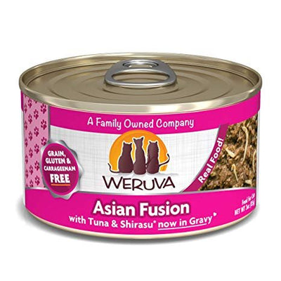 Weruva Grain Free Asian Fusion Canned Cat Food 5.5 oz.