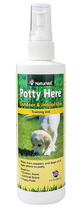 NaturVet Potty Here Training Aid 8 oz.