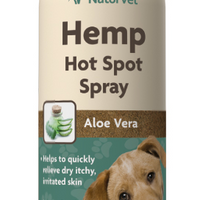 NaturVet Hemp Hot Spot Spray 12 oz.