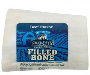 RedBarn Small Beef Filled Bones 3 in.