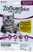 Zoguard Plus for Cats 1.5 lb. and Larger - 1 pack