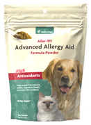 NaturVet Aller-911! Advanced Allergy Plus Antioxidants Formula Powder for Dogs and Cats 9 oz.