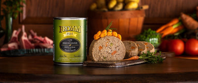 Fromm Gold Grain Free Lamb and Sweet Potato Pate Canned Dog Food 12 oz.