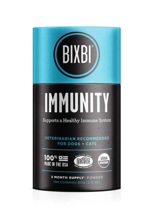 Bixbi Organic Immunity Pet Supplement 60gm (2 Mo Supply)