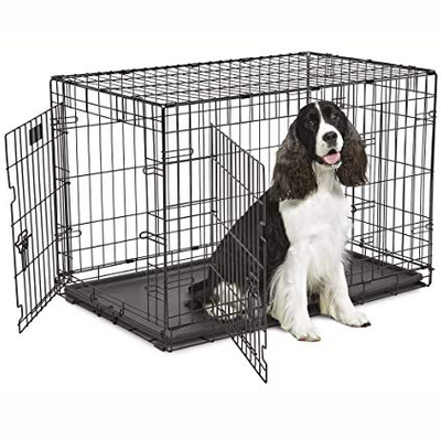 Contour Double Door Dog Crate 36 in.