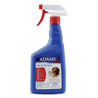 Adams Flea/Tick Spray for Dogs and Cats 32 oz.