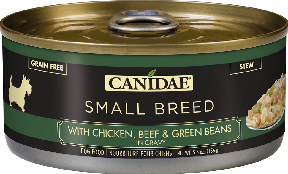 Canidae Small Breed with Chicken, Beef, and Green Beans Canned Dog Food 5.5 oz.