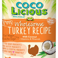 Cocolicious Wholesome Turkey Canned Dog Food 13 oz.