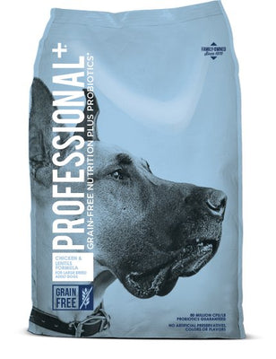 Professional Plus Grain Free Large Breed Adult 28 lb.