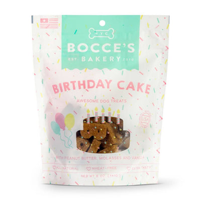 Bocces Bakery Biscuit Bag - Birthday Cake 5 oz.