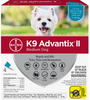 K9 Advantix II Teal Medium 4 pk
