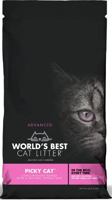 Worlds Best Picky Cat Litter 6 lb.