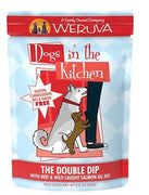 Weruva Dogs in the Kitchen - Double Dip - Beef and Salmon Dog Food Pouch 2.8 oz.