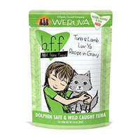 Weruva BFF Luv Ya - Tuna and Lamb Cat Food Pouch 3 oz.