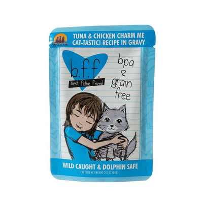 Weruva BFF Charm Me - Tuna and Chicken Cat Food Pouch 3 oz.