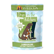 Weruva Dogs in the Kitchen - Lamburgini - Lamb and Pumpkin Dog Food Pouch 2.8 oz.
