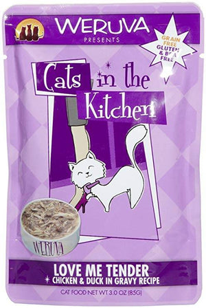 Weruva Cats in the Kitchen - Love Me Tender Cat Food Pouch 3 oz.