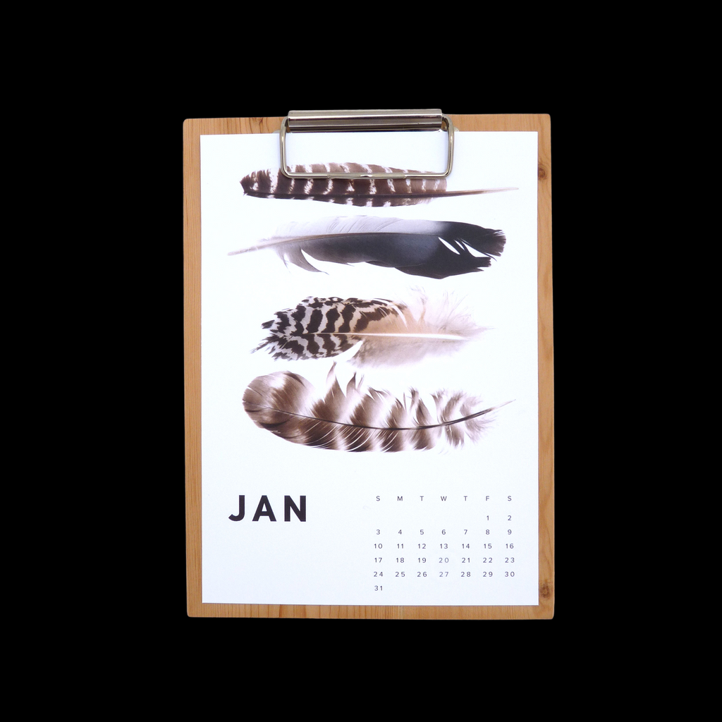 THESE THREE THINGS 2021 WOOD WALL CALENDAR