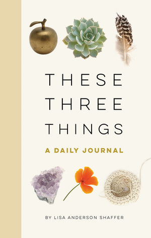 THESE THREE THINGS THE BOOK