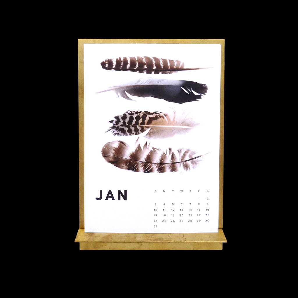 THESE THREE THINGS 2021 BRASS EASEL CALENDAR