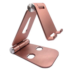 Phone Stand - Large/Pink/Aluminum