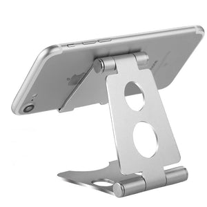 Phone Stand - Small/Grey/Aluminum