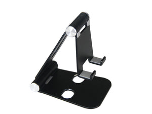 Phone Stand - Large/Black/Aluminum