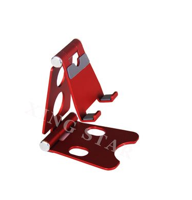 Phone Stand - Small/Red/Aluminum