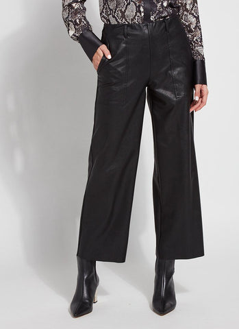 Veva Vegan Leather Pant