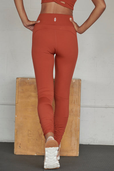 Freeform Legging In Burnt Sienna