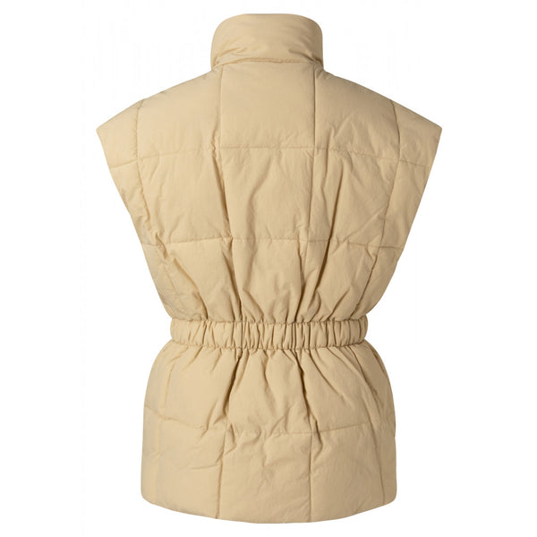 Vest With Elasticated Waist