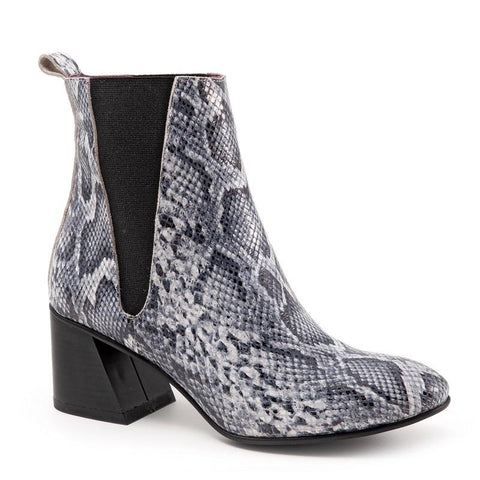 Oxide Boot In Grey Python