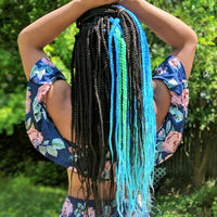 Complete Crochet Box Braids Complete install Kit (4 colors)