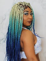 Lace Closure Braided Wig