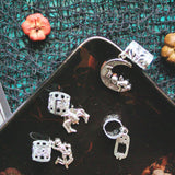 Dance of the Dead Hair Cuffs | Braid Jewelry