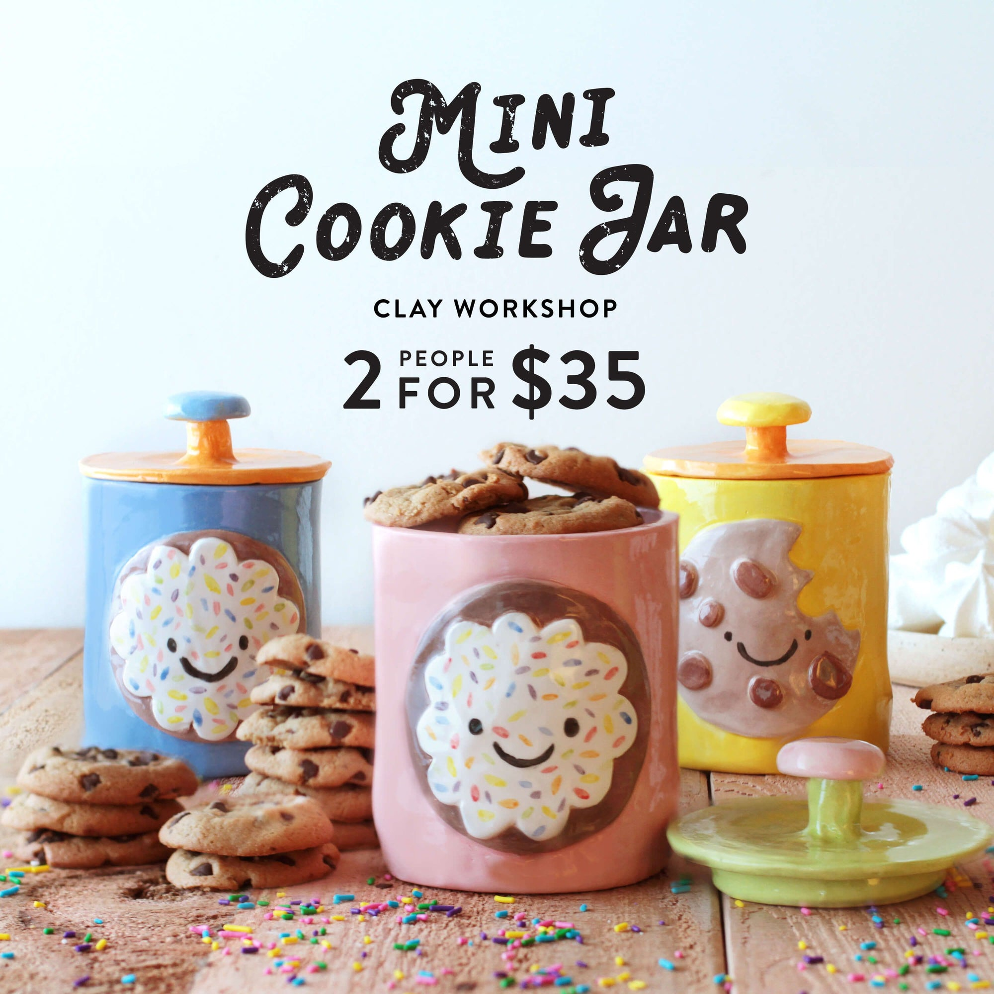 Mini Cookie Jar—Family & Adult
