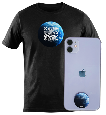 QR TShirt & Tappy Dot bundle