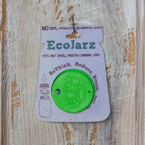 Classic Drinking Jar Lid - Regular Mouth - Silicone - Eco Jarz Aus