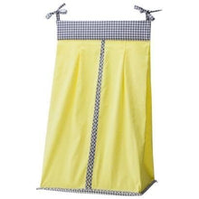 Mini Dot & Gingham Diaper Stacker - Yellow by Trend Labs