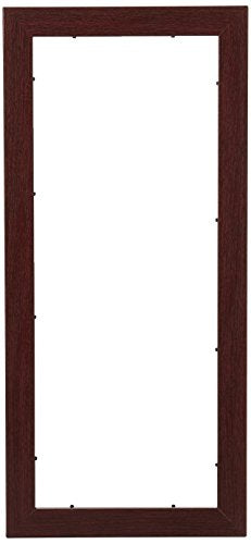 "Art To Frames 8x20 Inch Brown Picture Frame, This 1.25"" Custom Poster Frame Is Classic Mahogany Frame,"