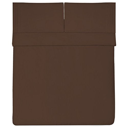 1500 Supreme Collection Bed Sheets - PREMIUM QUALITY BED SHEET SET & LOWEST PRICE, SINCE 2012 - Deep Pocket Wrinkle Free Hypoallergenic Bedding - Over 40+ Colors - California King, Brown