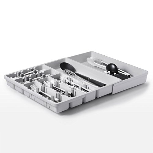 Oxo Good Grips Large Expandable Utensil Organizer   Gray
