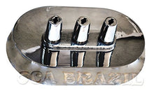 Support for 3 Brazilian Skewers - Oval - Metal