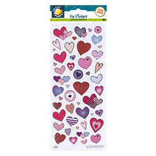 Fun Stickers - Love Hearts by Craft Planet